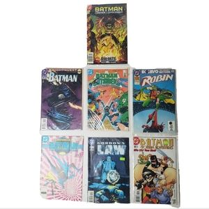 Batman comic books dc bundle dark knight Robin 7